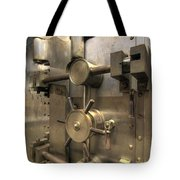Old Bank Vault In Historic Building Tote Bag
