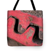Old Cog Wheels Tote Bag by Les Palenik