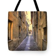 Old Colorful Stone Alley Tote Bag