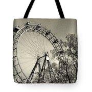 Old Ferris Wheel Tote Bag