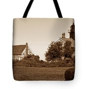Old Field Point Lighthouse Tote Bag