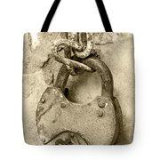 Old Padlock Tote Bag