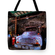 Old Pickup Truck Hdr Tote Bag