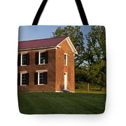 Old Schoolhouse Tote Bag by Brian Jannsen