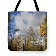 Old Sigulda Castle Ruins Tote Bag