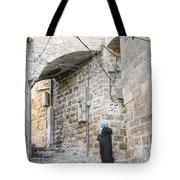 Old Town Street In Jerusalem Israel Tote Bag
