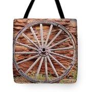 Old Wagon Wheel 2 Tote Bag