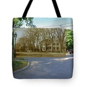 Oliver C. Brownell House On The Commons In Little Compton Rhode Island Tote Bag