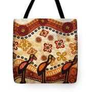 On The Lake Tote Bag by Sergey Khreschatov