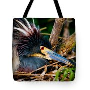 On The Nest Tote Bag