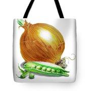 Onion And Peas Tote Bag