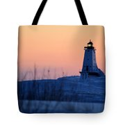 Orange Glow Tote Bag