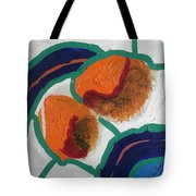 2 Orange Tote Bag