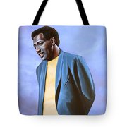 Otis Redding Painting Tote Bag