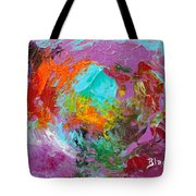 Out In The Garden Tote Bag