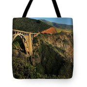 Pacific Coast Highway Tote Bag by Benjamin Yeager