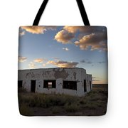 Painted Desert Trading Post At Sunset Tote Bag