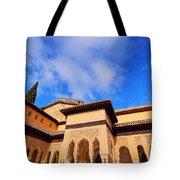 Palacios Nazaries In Granada Tote Bag