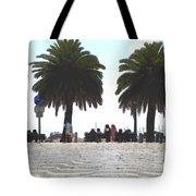Palm Mirage Tote Bag