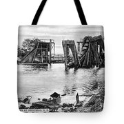 Panama Canal French Work Tote Bag