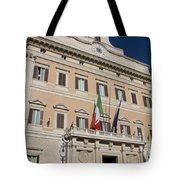 Parliament Building Rome Tote Bag