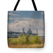 Patriots Point Maritime Tote Bag