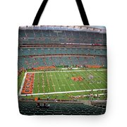 Paul Brown Stadium Tote Bag by Dan Sproul
