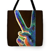 Peace Tote Bag by Eloise Schneider