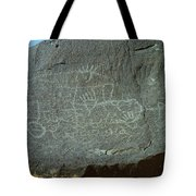 Petroglyph Rock Tote Bag