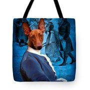Pharaoh Hound Art Canvas Print Tote Bag