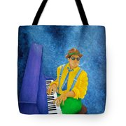 Piano Man Tote Bag