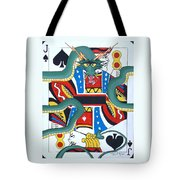 Pick A Card Any Card Tote Bag