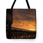 Pier Myrtle Beach Sc Tote Bag