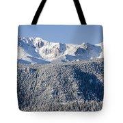 Pikes Peak Snow Tote Bag