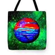 Planet Disector Red 1 Tote Bag