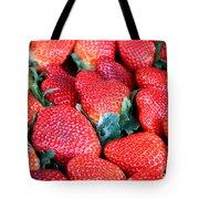 Plant City Strawberries Tote Bag