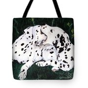 Playful Pups Tote Bag