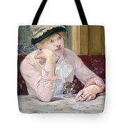 Plum Brandy Tote Bag