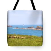 Pointe Du Grouin - Brittany Tote Bag