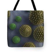 Pollen Grains Tote Bag