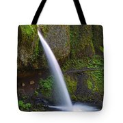 Ponytail Falls - Columbia River Gorge - Oregon Tote Bag