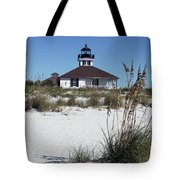 Port Boca Grande Lighthouse Tote Bag
