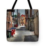 Portrait Alley Tote Bag