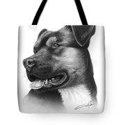 Portrait Of A Dog Tote Bag