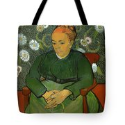 Portrait Of Madame Roulin Tote Bag