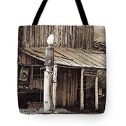 Post Office-gas Station Ghost Town Wagoner Arizona 1968 Tote Bag