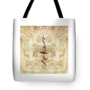 Prayer Flag Triptych Tote Bag by Carol Leigh