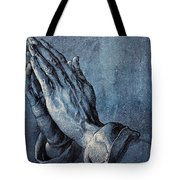 Praying Hands Tote Bag by Albrecht Durer