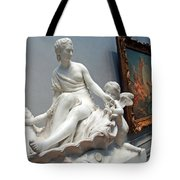 Falconet -- Primarily Venus Of The Doves Tote Bag