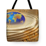 Printed Circuit Tote Bag